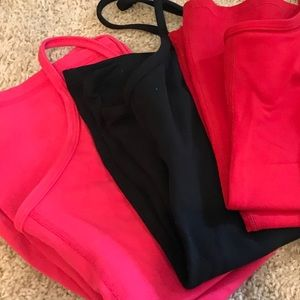 Lululemon Power Y Tank tops - lot of 3- All size 8